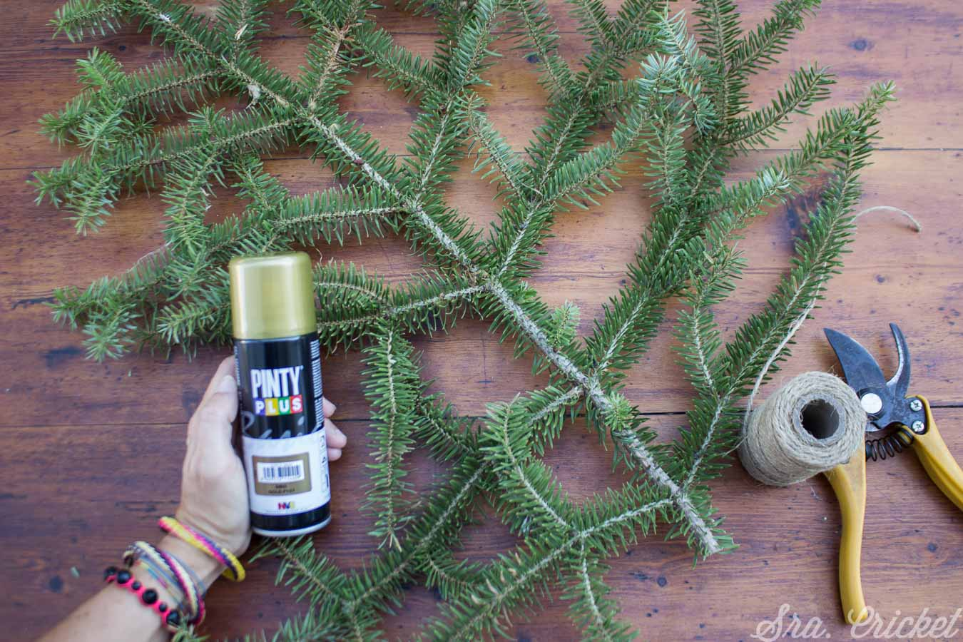 Créer un arbre de Noel avec Pintyplus