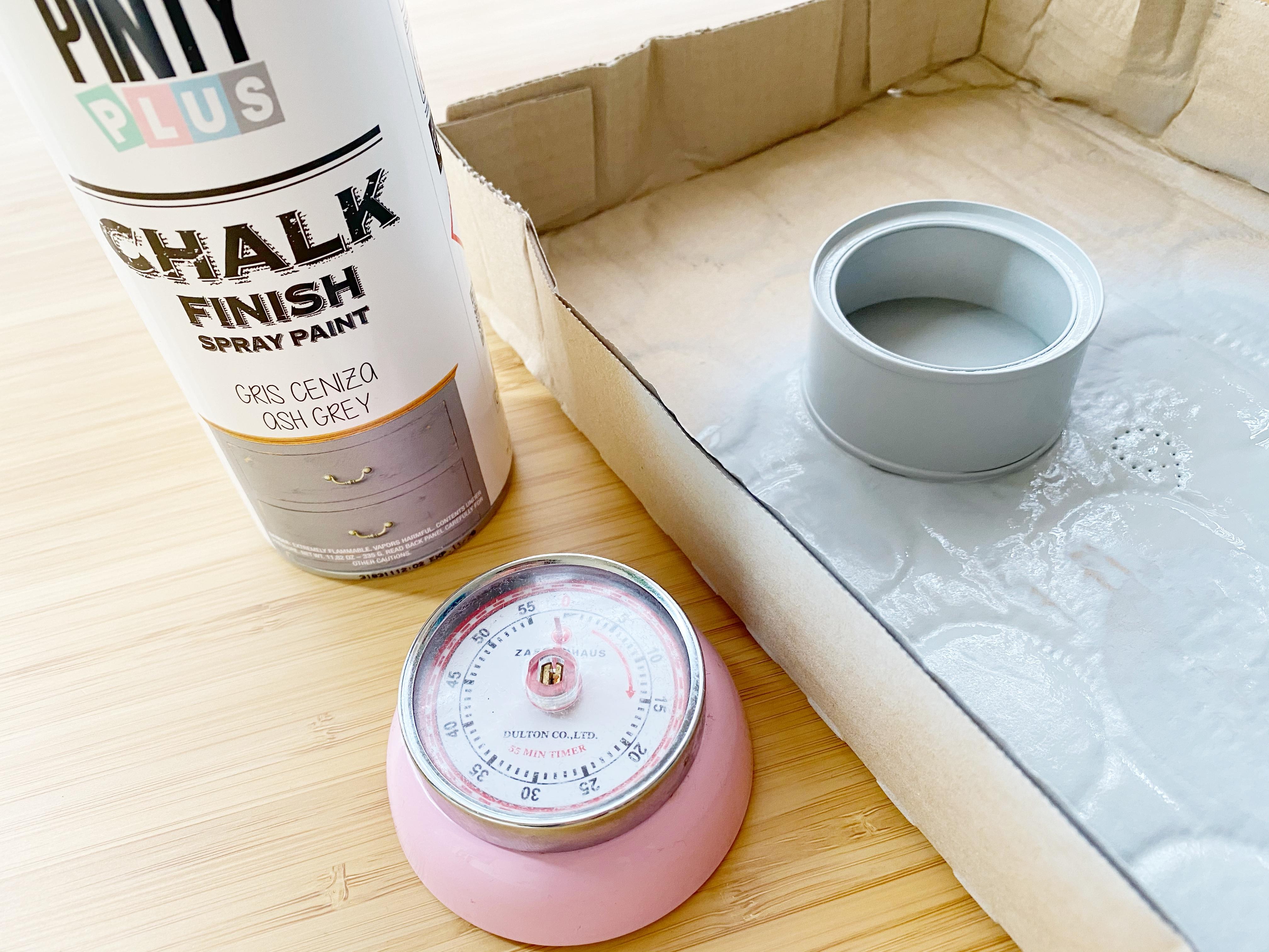 pintura en spray Chalk Paint pintyplus dar color