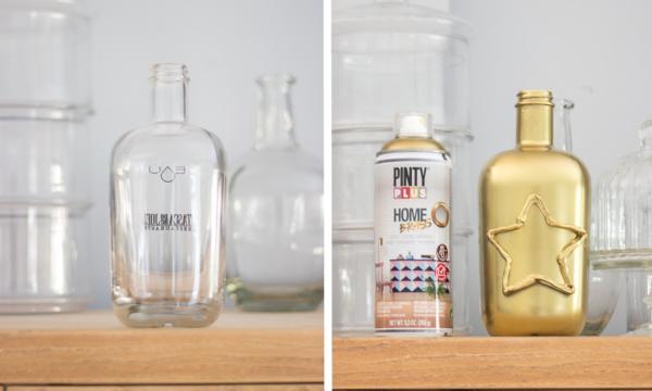 Decora objetos con Pintyplus HOME Brass y Pintyplus Stencil