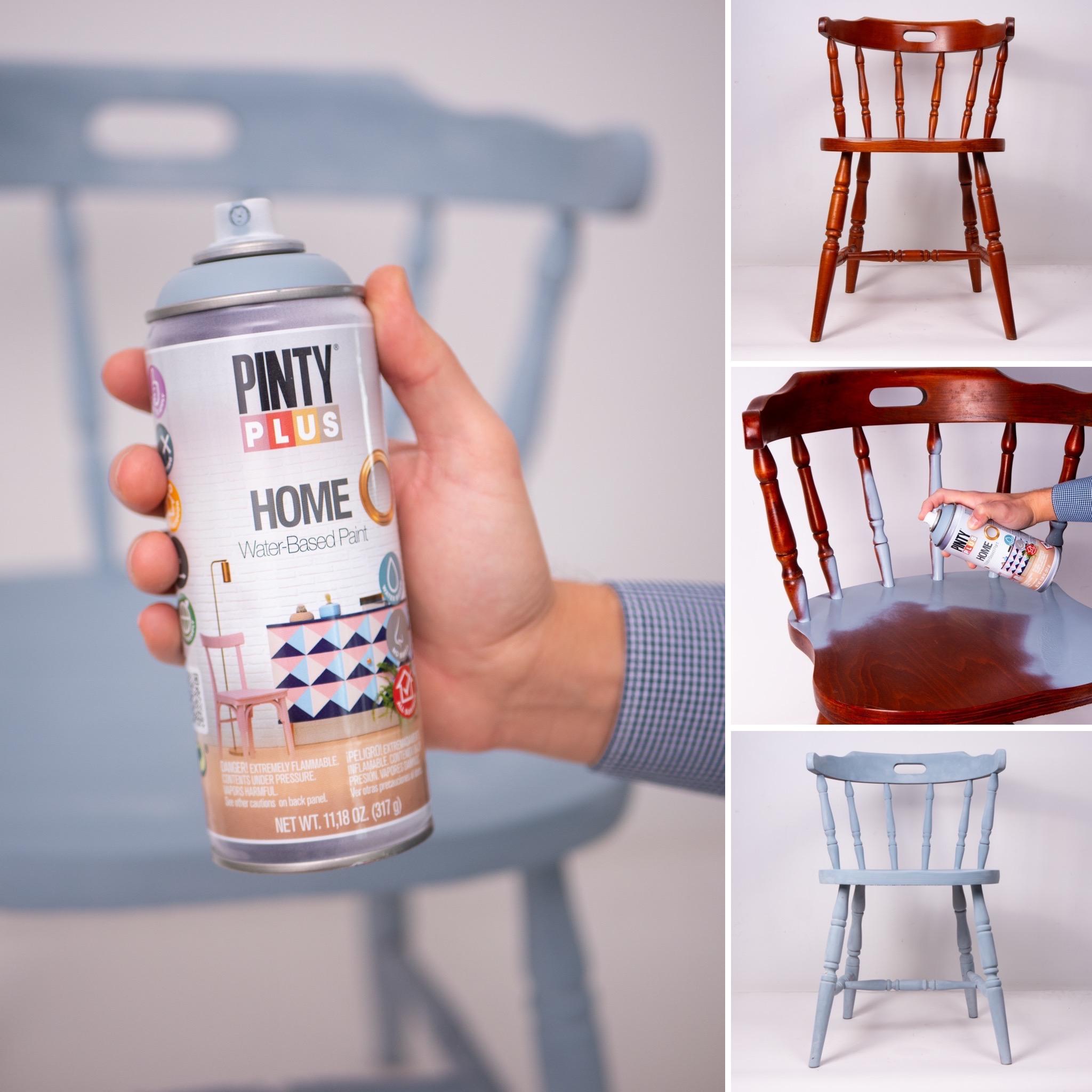 pintura spray pintar puebles y decoracion en casa pintyplus