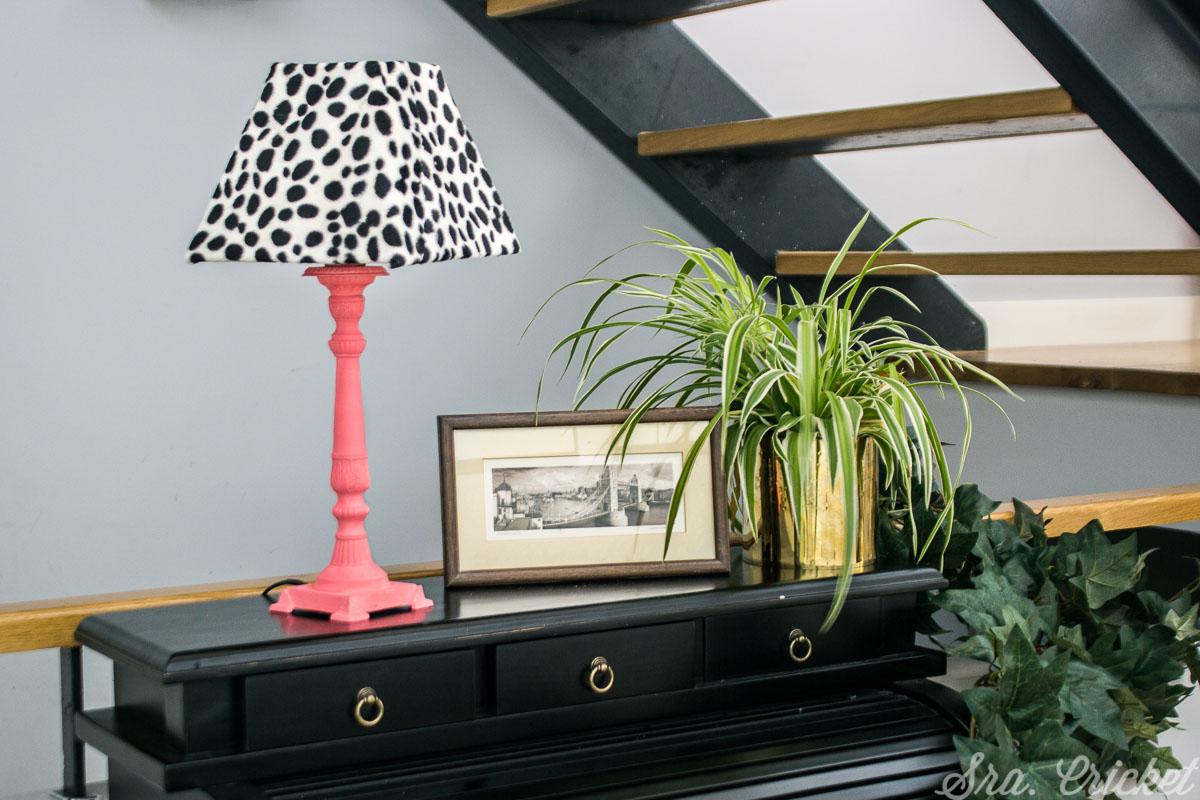 transformacion y decoracion lampara de hogar