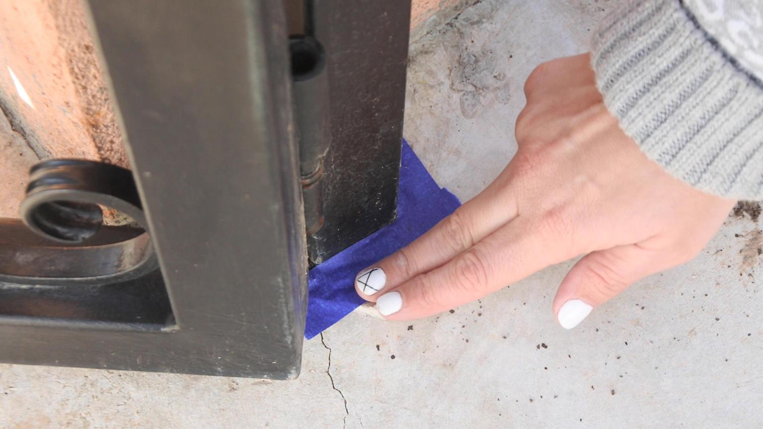 Changer la couleur d'une barrière en fer
