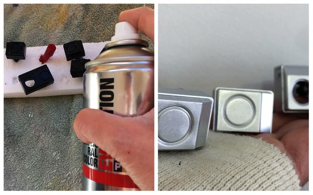 Pinta el altavoz y piezas metalizadas con Pintyplus EVOLUTION plata