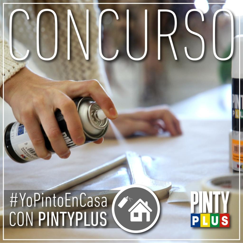 Concurso yopintoencasa con pintura en spray pintyplus