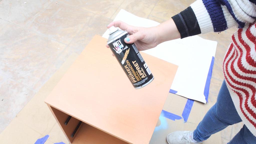 imprimacion en spray para madera