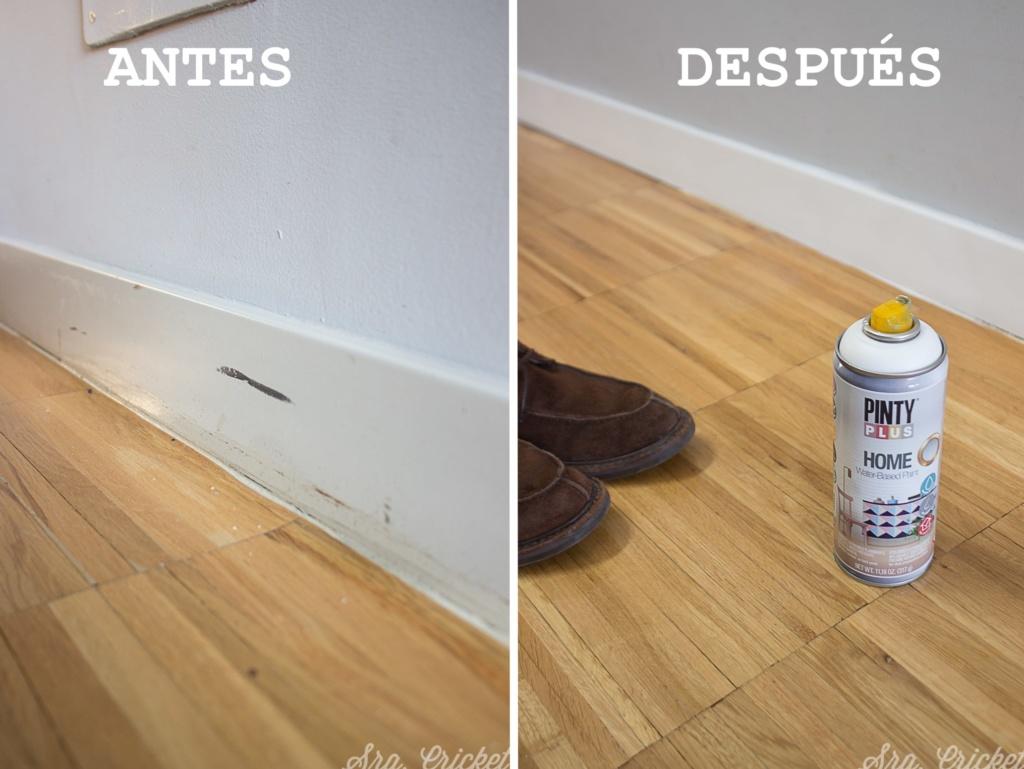 aerosol pintura pintyplus home reparar rodapies