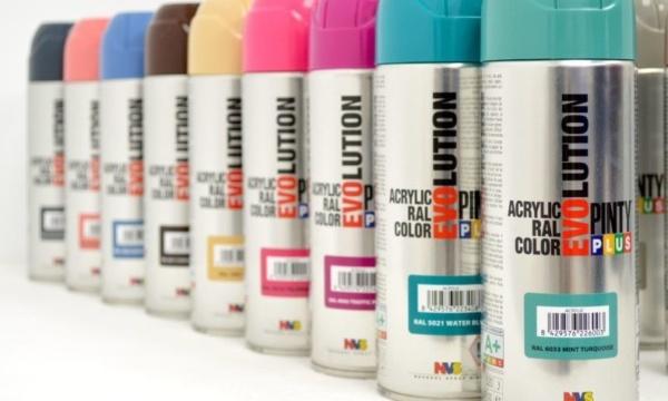 Evoluciona con Pintyplus pintura en aerosol para todas las superficies