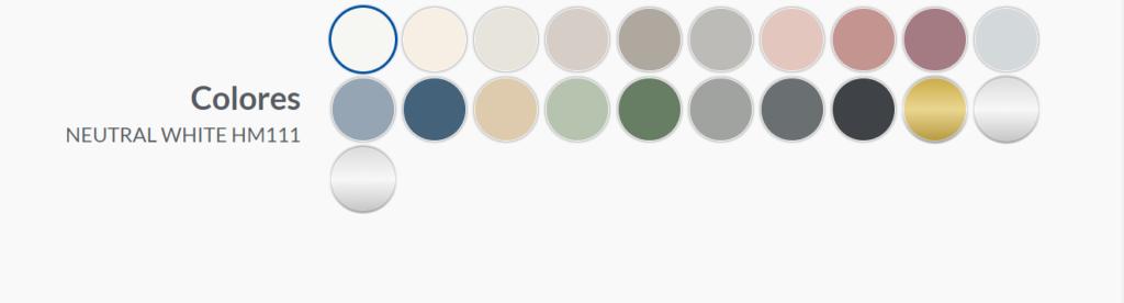 paleta colores pintura aerosol para casa pintyplus home