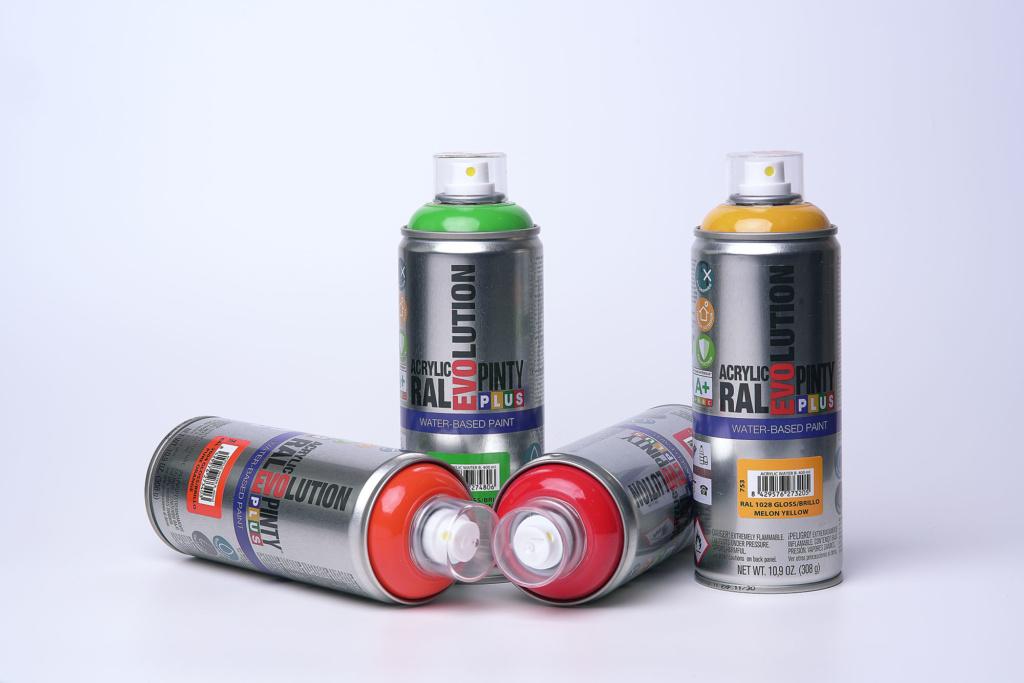 La peinture en spray Pintyplus à base d'eau