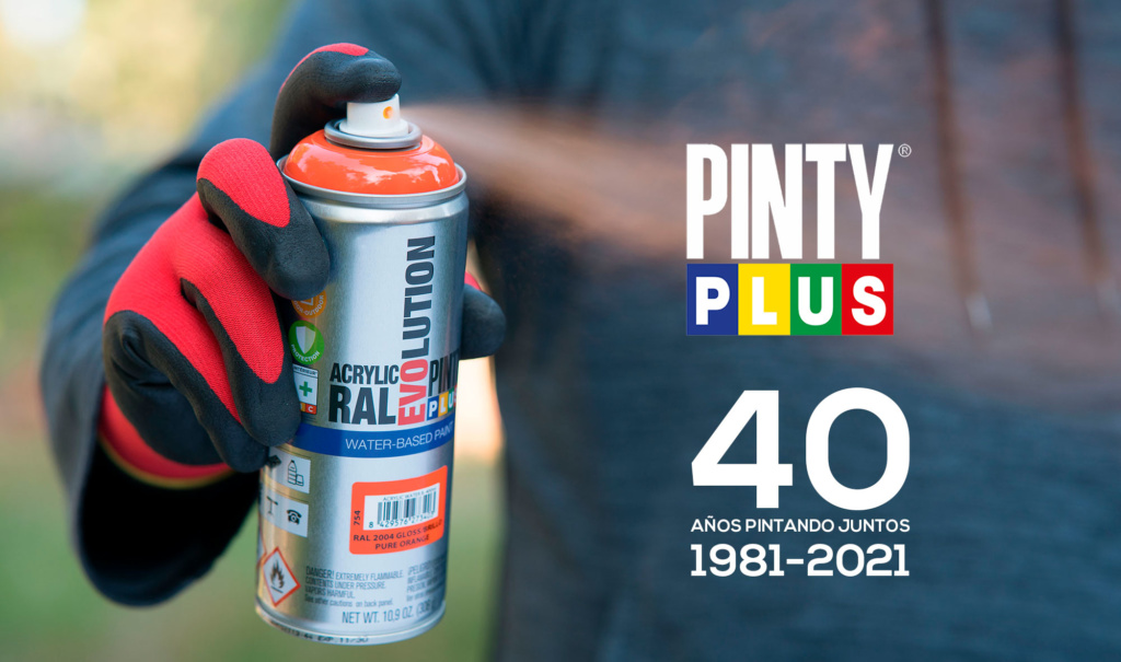 Pintyplus 40 años