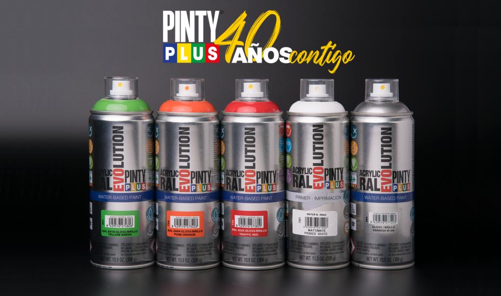 Pintyplus Evolution Waterbased de Novasol Spray